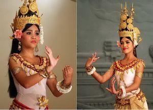 Апсары - настоящие жемчужины культуры камбоджи
