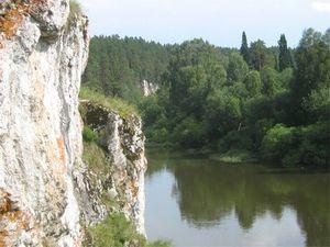 Чусовая — красивейшая река урала