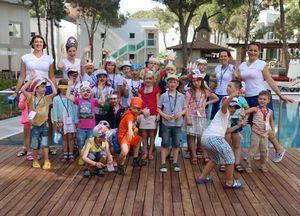 Coral travel организовал рекламный тур для детей
