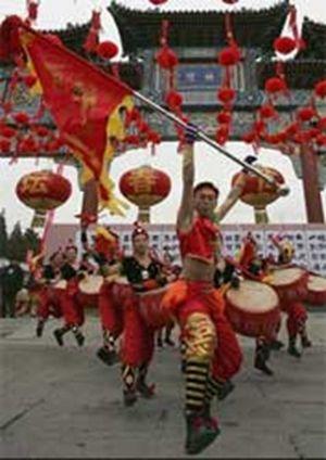 Гонконг поздравляет с новым годом по лунному календарю