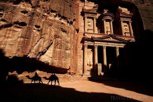 Город петра, пустыня вади рам,достопримечательности иордании