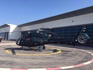«Хелипорт москва» принял второй за месяц вертолет h130
