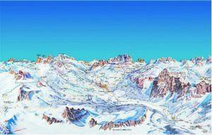 Итальянский горнолыжный курорт кортина д'ампеццо