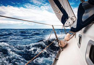 Яхтинг увлечение настоящих мужчин!