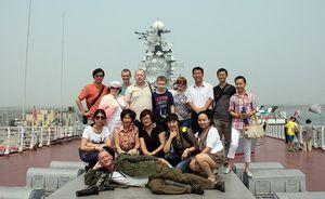 Китай: улица русской культуры под советским авианосцем «киев»