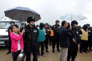 Китайский полицейский в сибири