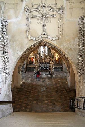 Костница или «церковь из костей» в чехии