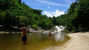Национальный парк янг бэй, водопад янг бэй