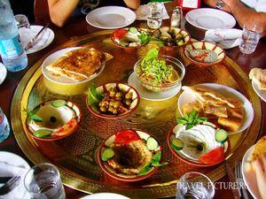 Настоящая арабская кухня в иордании, блюда арабской кухни