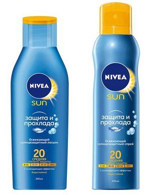 Охлаждающий эффект и защита от солнца