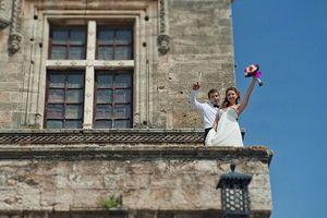 Победители конкурса «моя греческая свадьба» сыграли свадьбу на родосе