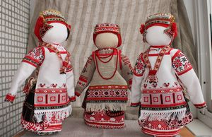 Разновидности тряпичных кукол