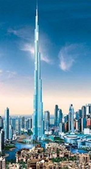 Самое высокое здание в мире открылось в дубае (видео)