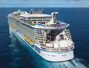 Самый большой в мире корабль спустят на воду