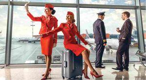 Шереметьево представил публике серию арт-фотографий пилотов и стюардесс со всего мира