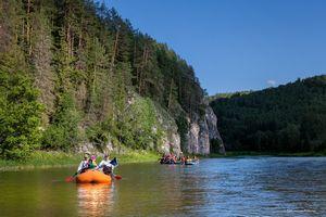 Сплав по реке, как способ активного отдыха. часть 3. скалы, баня