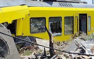В италии столкнулись два поезда.