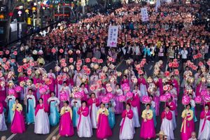 В корее пройдет фестиваль лотосовых фонарей