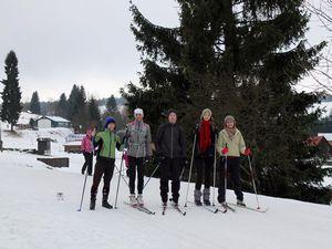 Зимний сезон открыт. подготовка лыж к катанию
